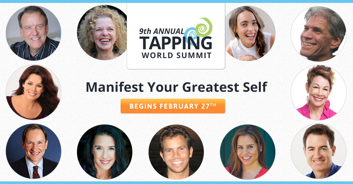 """This event teaches a phenomenal technique known as """"EFT"""" or """"Tapping"""" and it's 100% free to attend online."""
